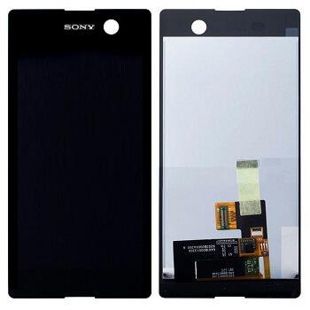 Картинка Дисплей Sony E5633 (M5/M5) в сборе с тачскрином черный от магазина NBS Parts