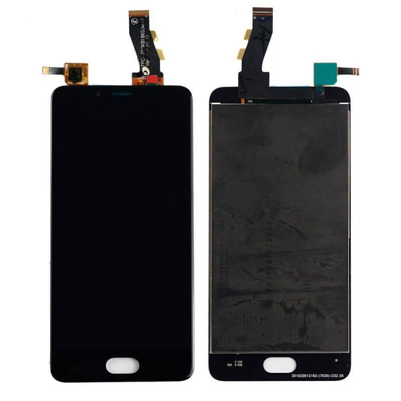 Картинка Дисплей Meizu U10  в сборе с тачскрином черный от магазина NBS Parts