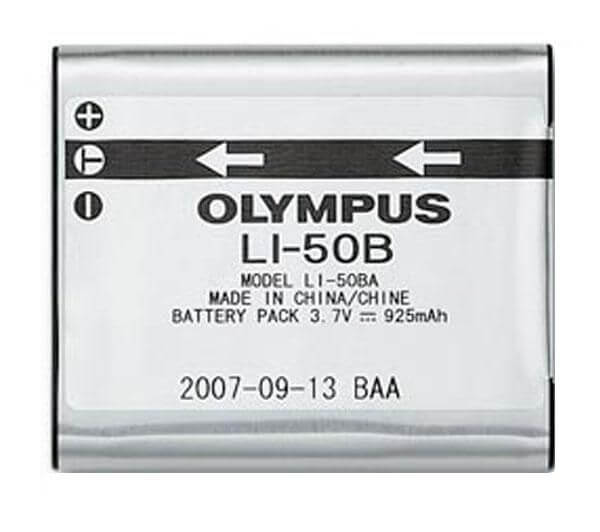 Картинка АКБ Olympus SP-720UZ D-750 D-755 D-760 SH-21 SH-25МР SP-800UZ SP-810UZ SP-815UZ Mju 1010 1020 10 от магазина NBS Parts