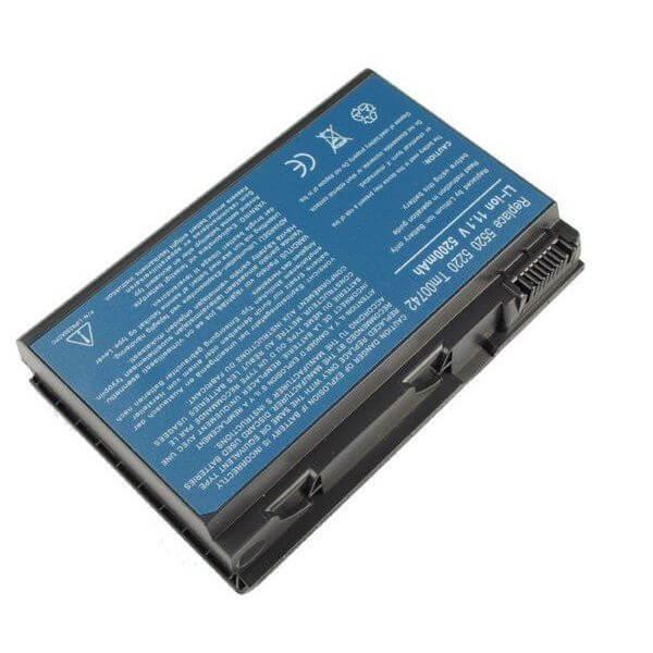 Картинка АКБ для ноутбука Acer Extensa 5220 5620 7220 7620  (11.1V 4400mAh) P/N: TM00742, TM00752, TM00772 от магазина NBS Parts