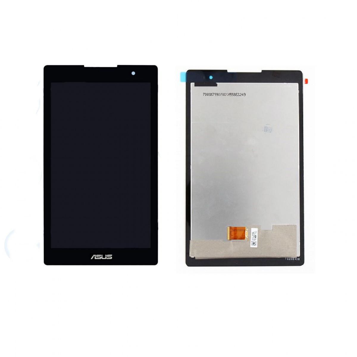 Картинка Дисплей Asus Z170MG (ZenPad C 7.0) в сборе с тачскрином Черный шлейф вверху от магазина NBS Parts