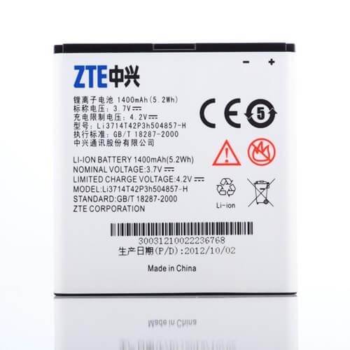 Картинка АКБ ZTE U830 U812 V788D U788 V811 Билайн Смарт 2 Li3714T42P3h504857-H от магазина NBS Parts