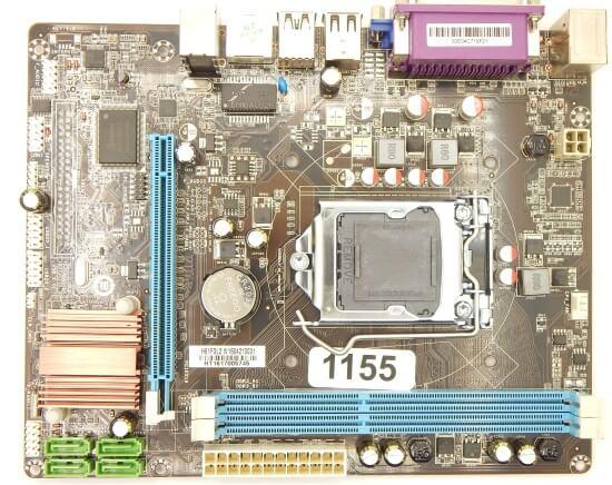 Картинка Материнская плата Foxconn, Socket1155, H61, 2DDR3, PCI-Ex16, SATA, 5.1-ch, VGA, mATX от магазина NBS Parts