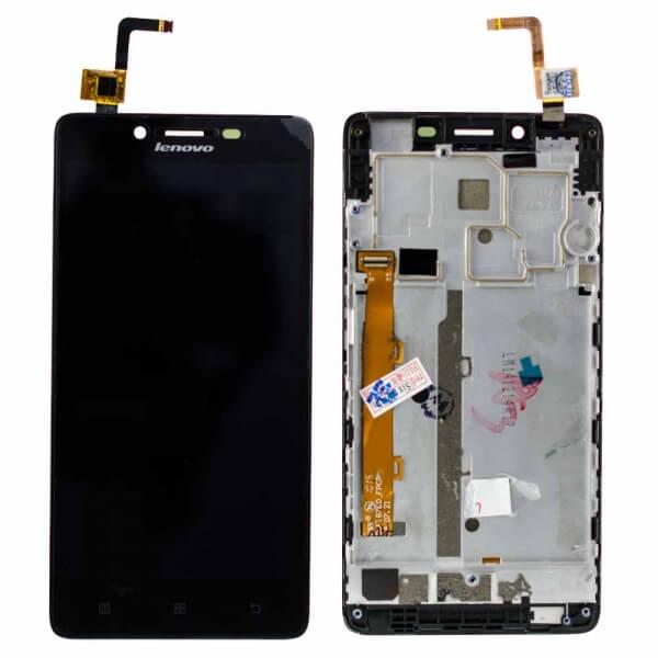 Картинка Дисплей Lenovo K30 в сборе с тачскрином черный от магазина NBS Parts