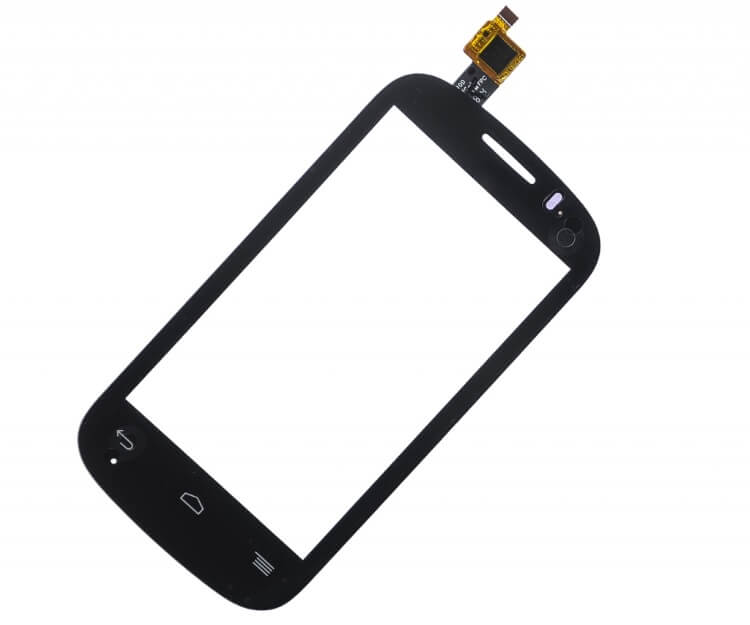 Картинка Сенсор Alcatel OT-4032X черный от магазина NBS Parts
