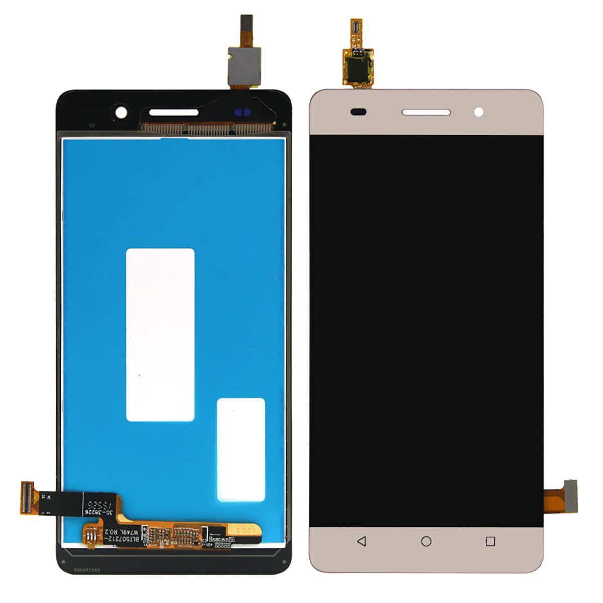 Картинка Дисплей Huawei Honor 4C в сборе с тачскрином золото от магазина NBS Parts