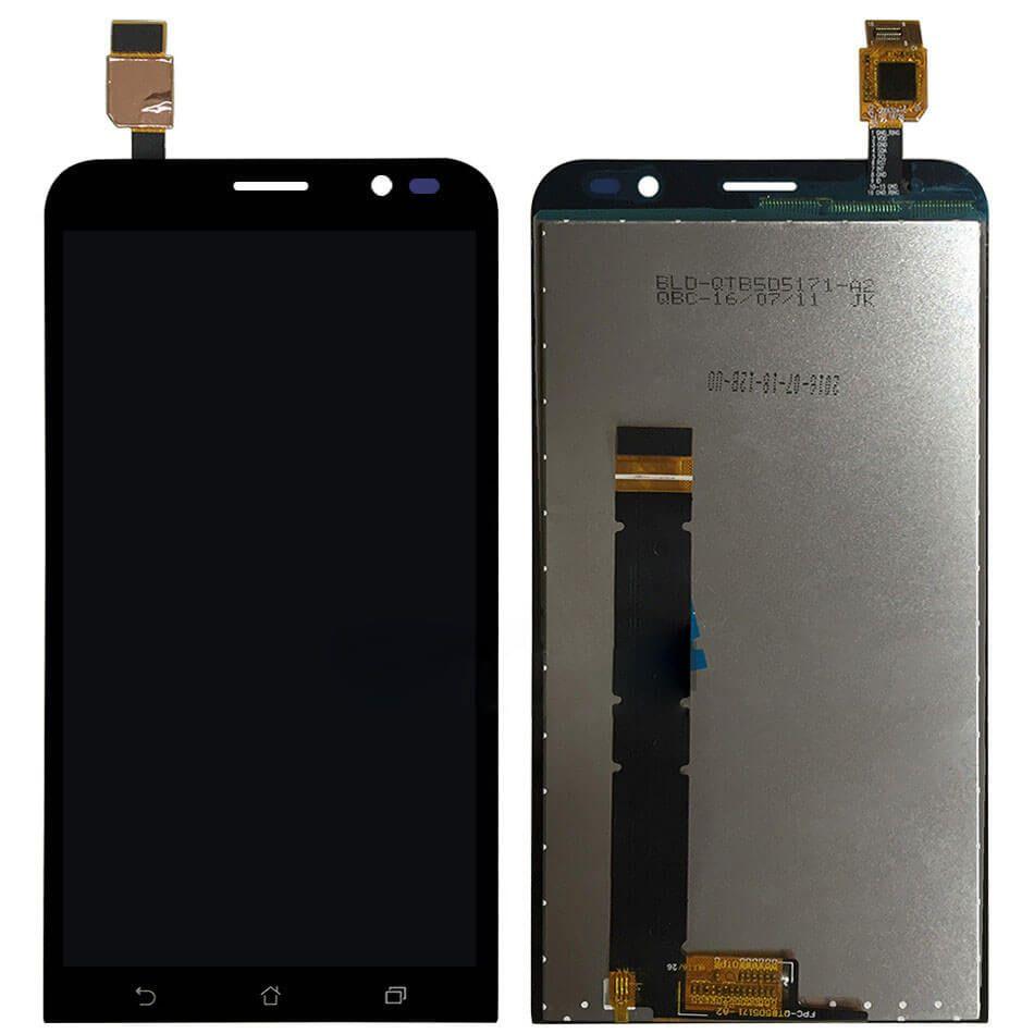 Картинка Дисплей Asus ZB551KL в сборе с тачскрином черный от магазина NBS Parts