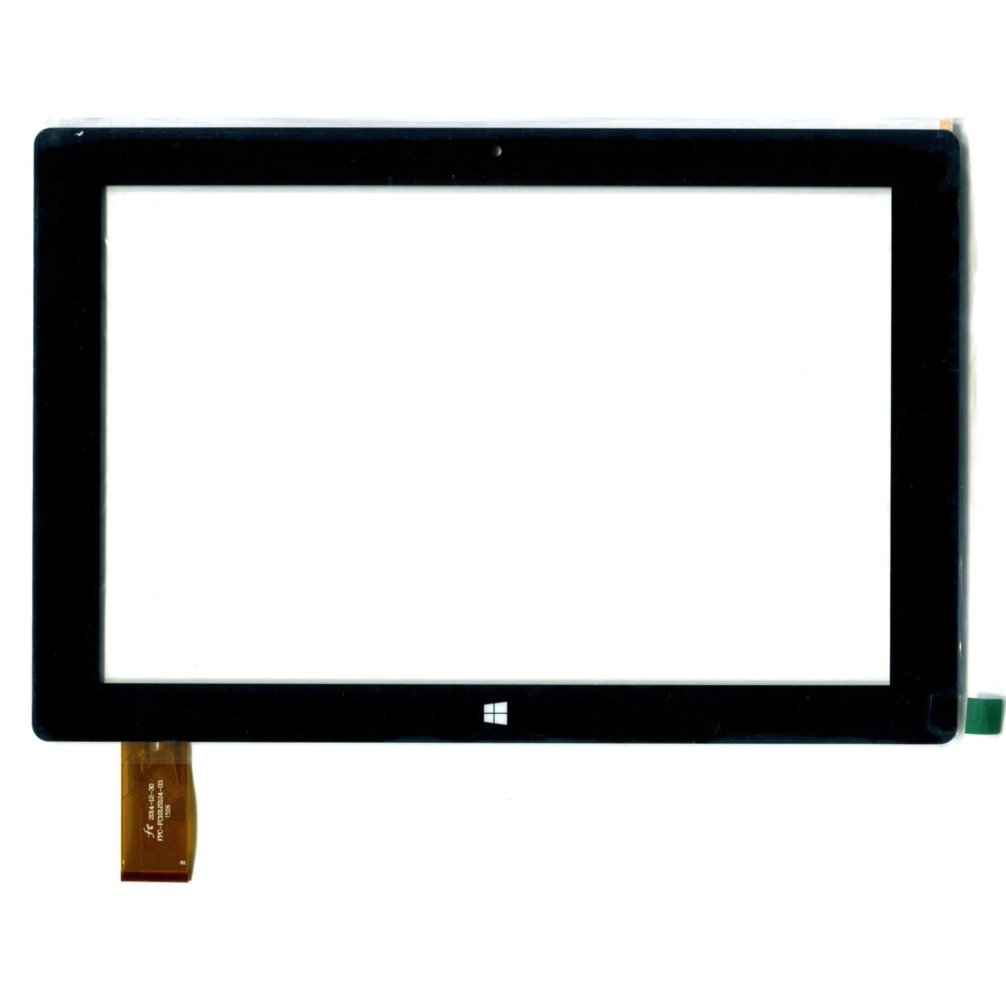 """Картинка Сенсор 10.1"""" FPC-FC101JS124-03 Irbis TW21 TW20 черный от магазина NBS Parts"""