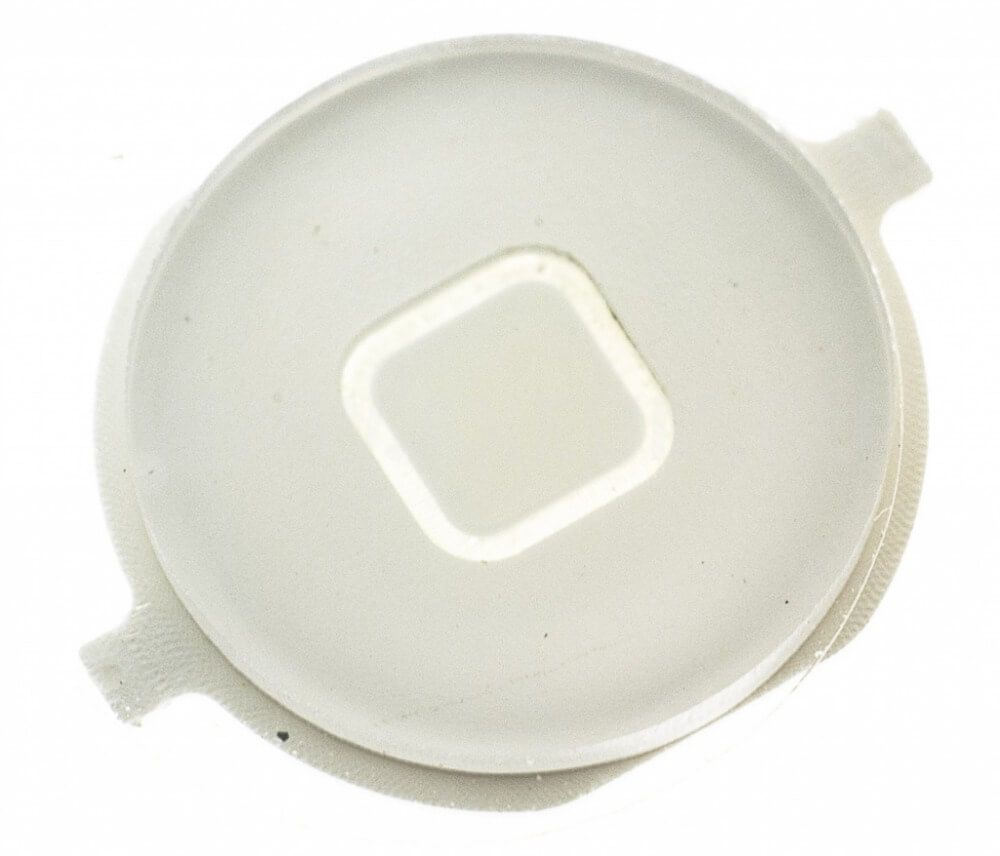 Картинка Толкатель кнопки HOME iPhone 4 белый от магазина NBS Parts