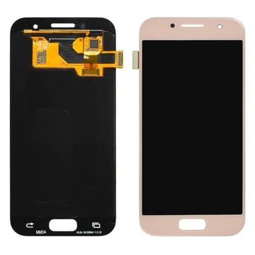 Картинка Дисплей Samsung A320F в сборе с тачскрином золото Orig от магазина NBS Parts