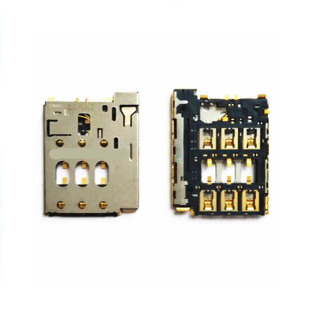 Картинка Коннектор SIM HTC Desire 816/610 от магазина NBS Parts