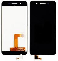 Картинка Дисплей Huawei Ascend GR3 в сборе с тачскрином черный от магазина NBS Parts