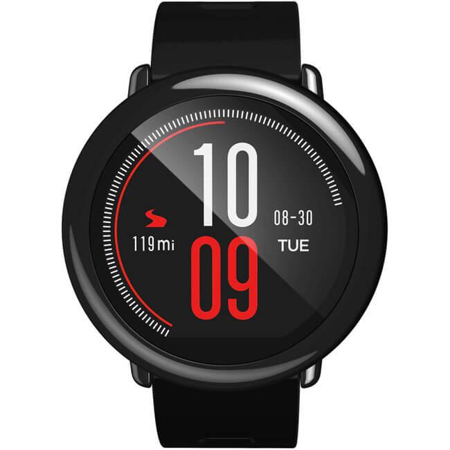 Картинка Часы Xiaomi Amazfit Smart Watch черный ремешок от магазина NBS Parts
