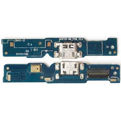 Картинка Шлейф Asus ZC451TG (ZenFone Go) плата на системный разъем/микрофон от магазина NBS Parts