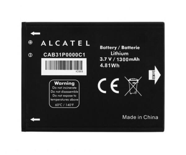 Картинка АКБ Alcatel 4033d CAB31P0000C1 от магазина NBS Parts