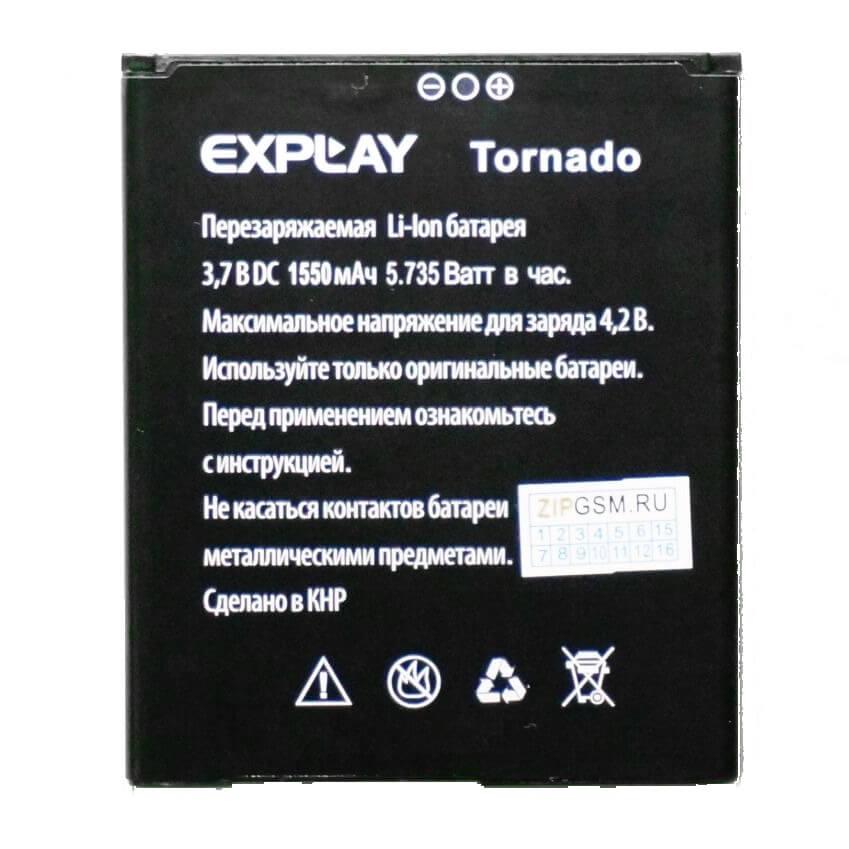 Картинка АКБ Explay Tornado от магазина NBS Parts