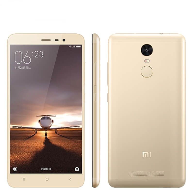 "Картинка Смартфон Xiaomi Redmi NOTE 3 Metal Body Gold 5.5"" 2Sim 2ГБ/16ГБ GSM WiFi от магазина NBS Parts"