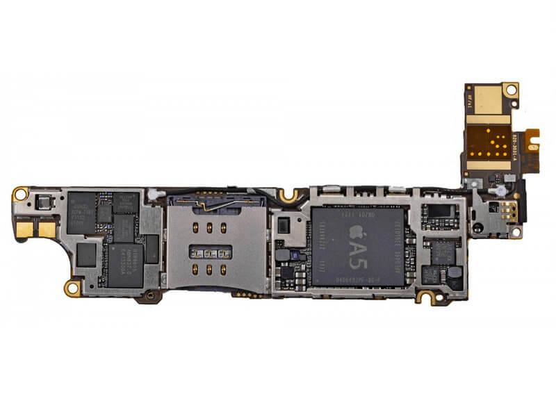 Картинка Сист. плата на тел iPhone 4S 8Gb от магазина NBS Parts
