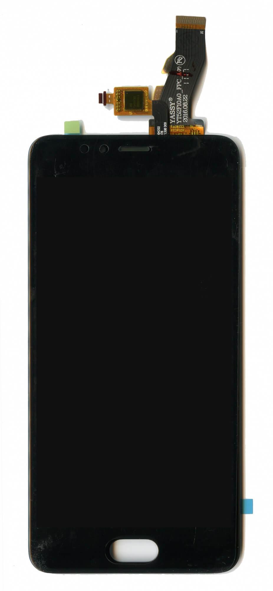 Картинка Дисплей Meizu M5s в сборе с тачскрином Черный от магазина NBS Parts