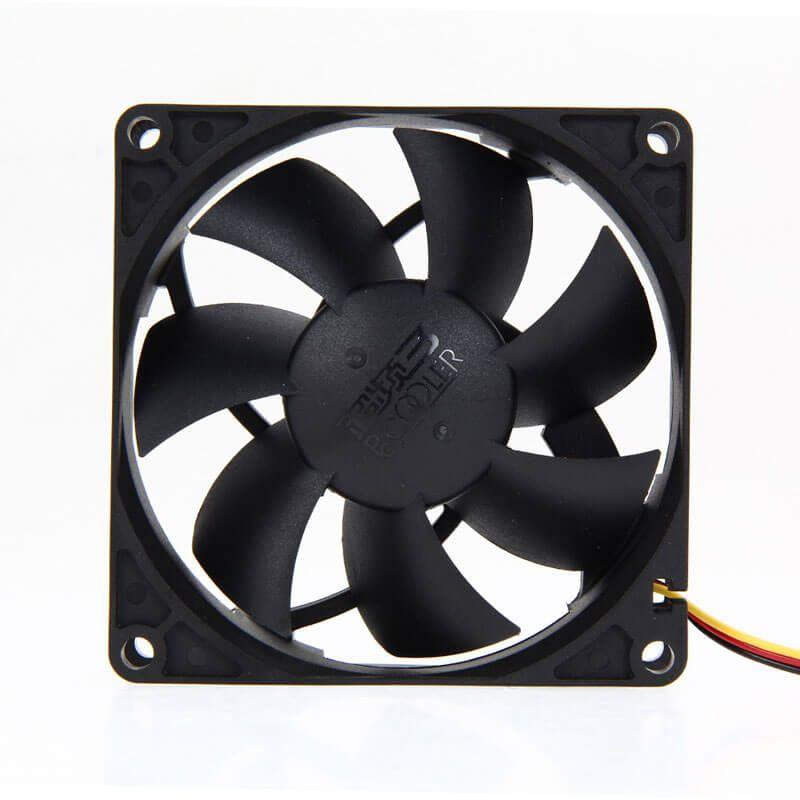 Картинка Вентилятор 80x80 мм, 4-pin, 2500 об, мин - 2500 об, мин, 25 дБ - 25 дБ] от магазина NBS Parts