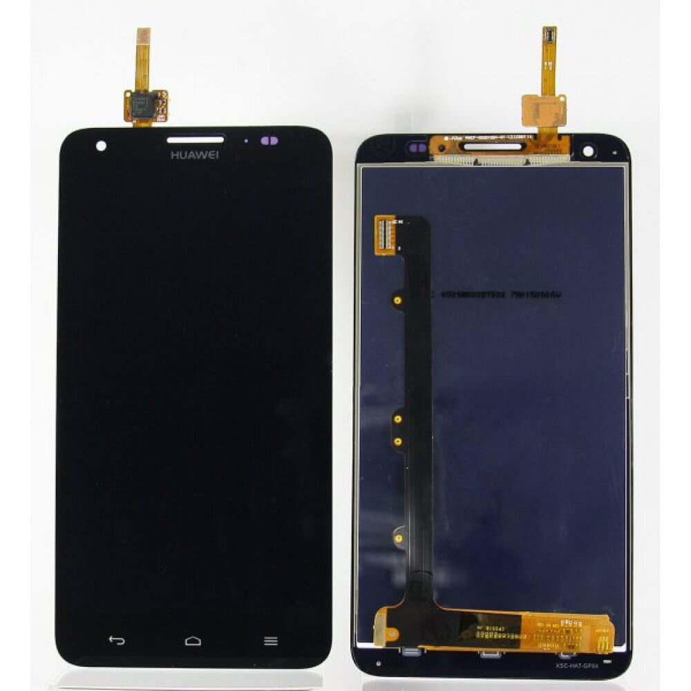 Картинка Дисплей Huawei Honor 3x в сборе с тачскрином Черный от магазина NBS Parts