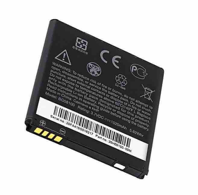 Картинка АКБ HTC BG58100 тех.уп от магазина NBS Parts