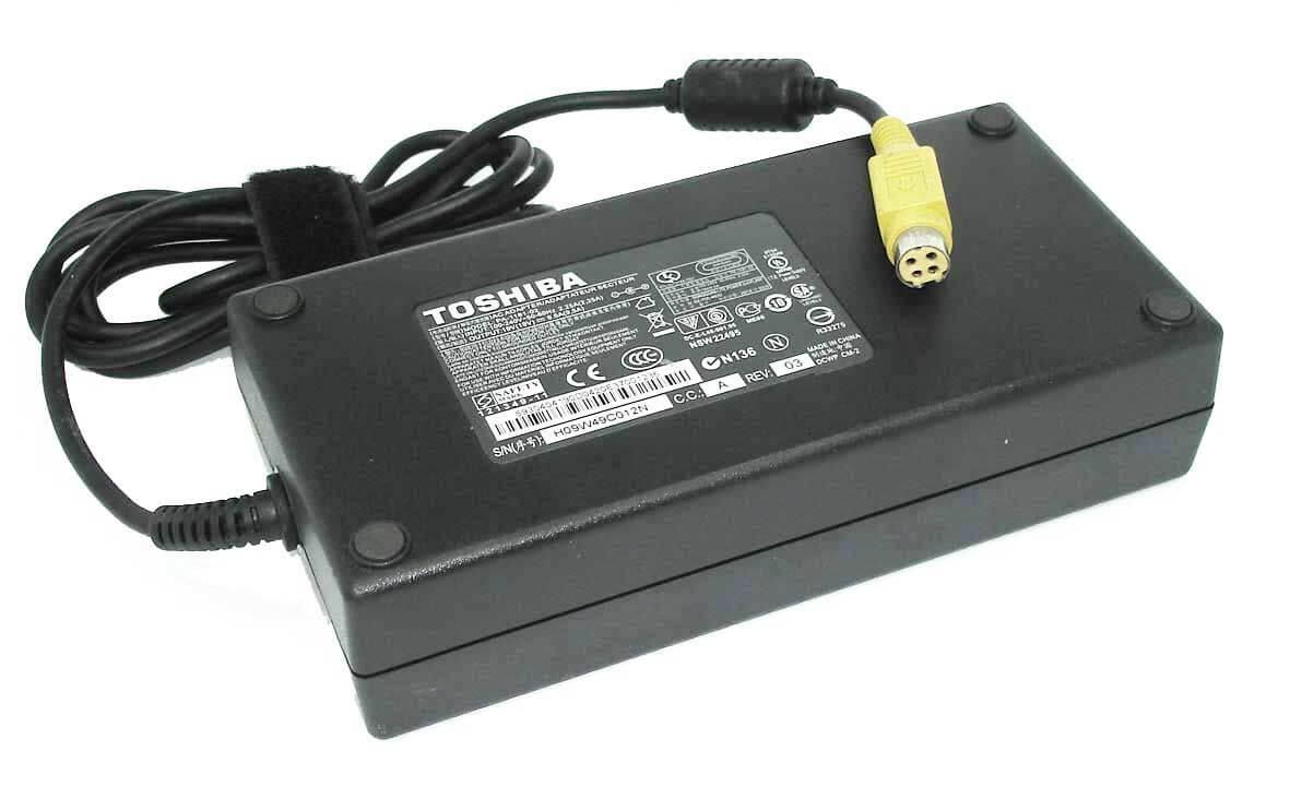 Картинка Блок питания для ноутбука Toshiba 19V9.5A 4pin 180W от магазина NBS Parts