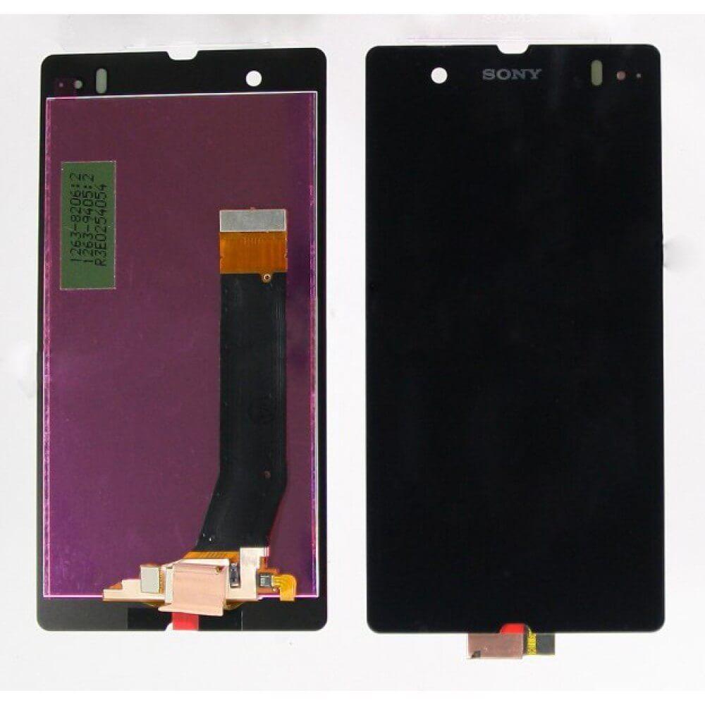 Картинка Дисплей Sony C6603 (Z) в сборе с тачскрином черный от магазина NBS Parts