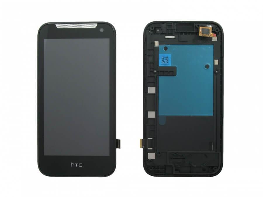Картинка Дисплей HTC Desire 310 в сборе с тачем черный от магазина NBS Parts