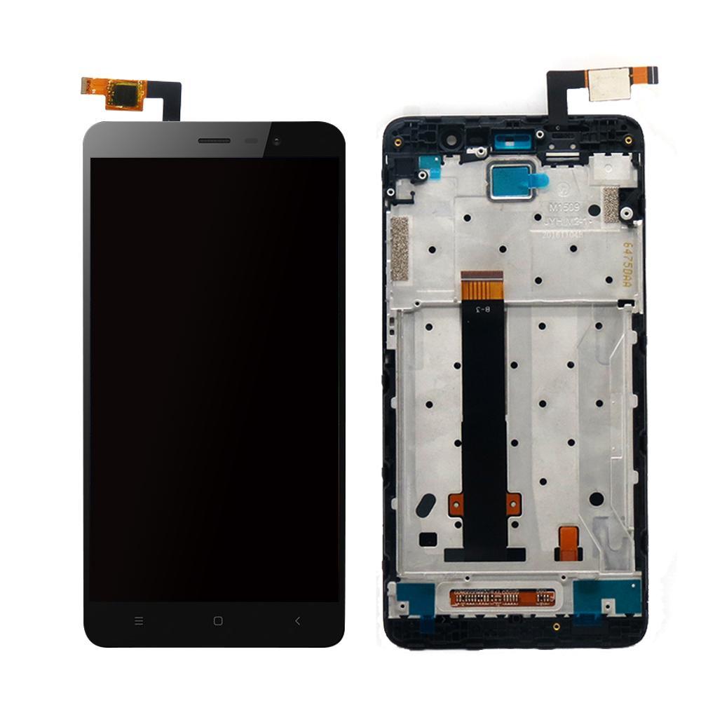 Картинка Дисплей Xiaomi Redmi Note 3 Pro SE в сборе с тачскрином черный от магазина NBS Parts