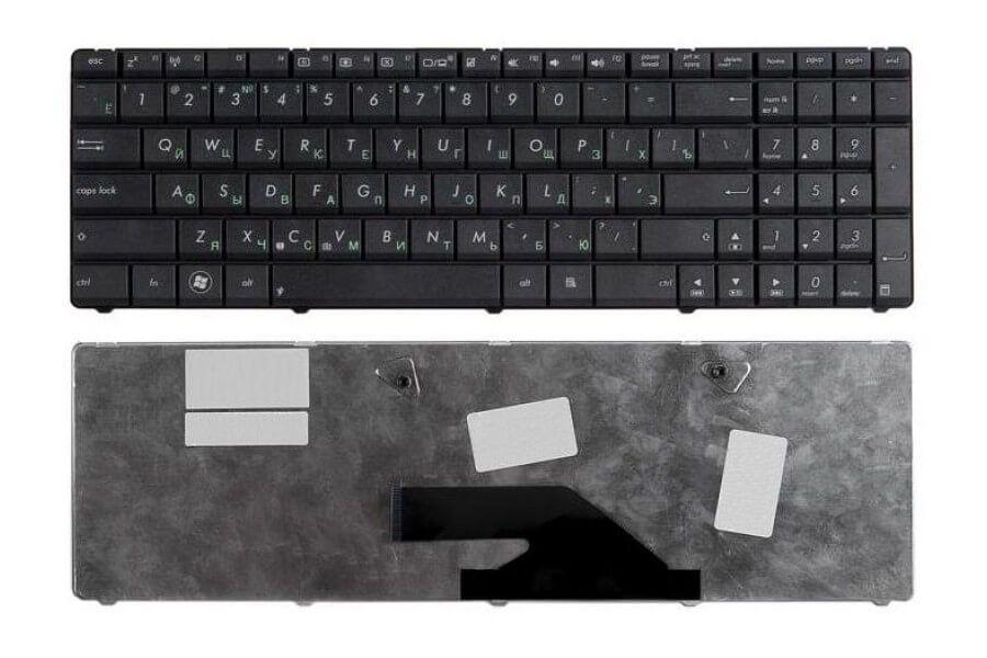 Картинка Клавиатура для Asus K73SV X75A X75V P/n: V118502BS1, PK130OG2A05, MP-10A73SU-6984, 0KNB0-6241RU00 от магазина NBS Parts