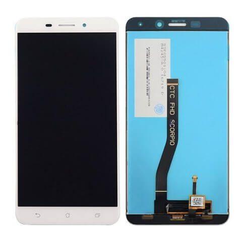 Картинка Дисплей Asus ZenFone 3 Laser (ZC551KL)  в сборе с тачскрином Белый от магазина NBS Parts