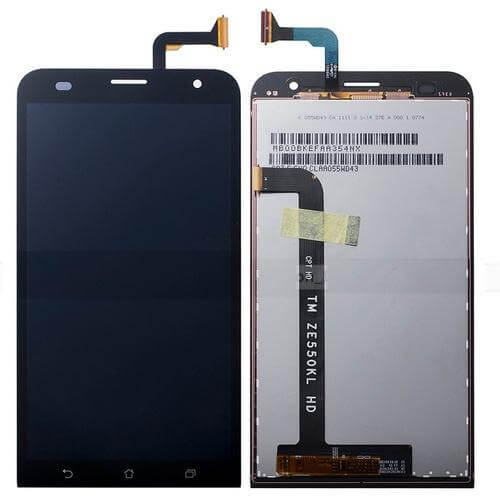 Картинка Дисплей Asus ZenFone 2 Laser (ZE550KL)  в сборе с тачскрином Черный от магазина NBS Parts