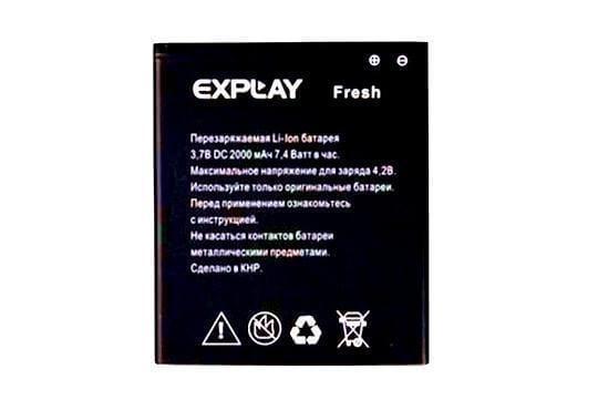 Картинка АКБ Explay Fresh от магазина NBS Parts