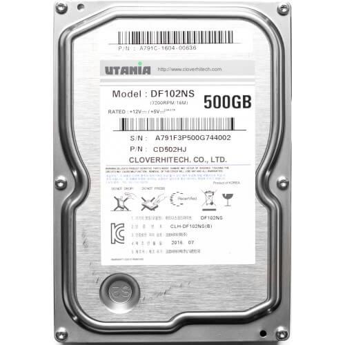 """Картинка Жесткий диск Utania 3.5"""" 500 Гб, SATA III, 7200 rpm от магазина NBS Parts"""