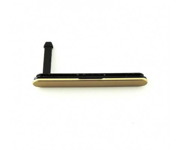 Картинка Заглушка SIM/SD Sony E6683 (Z5 Dual) Золото от магазина NBS Parts