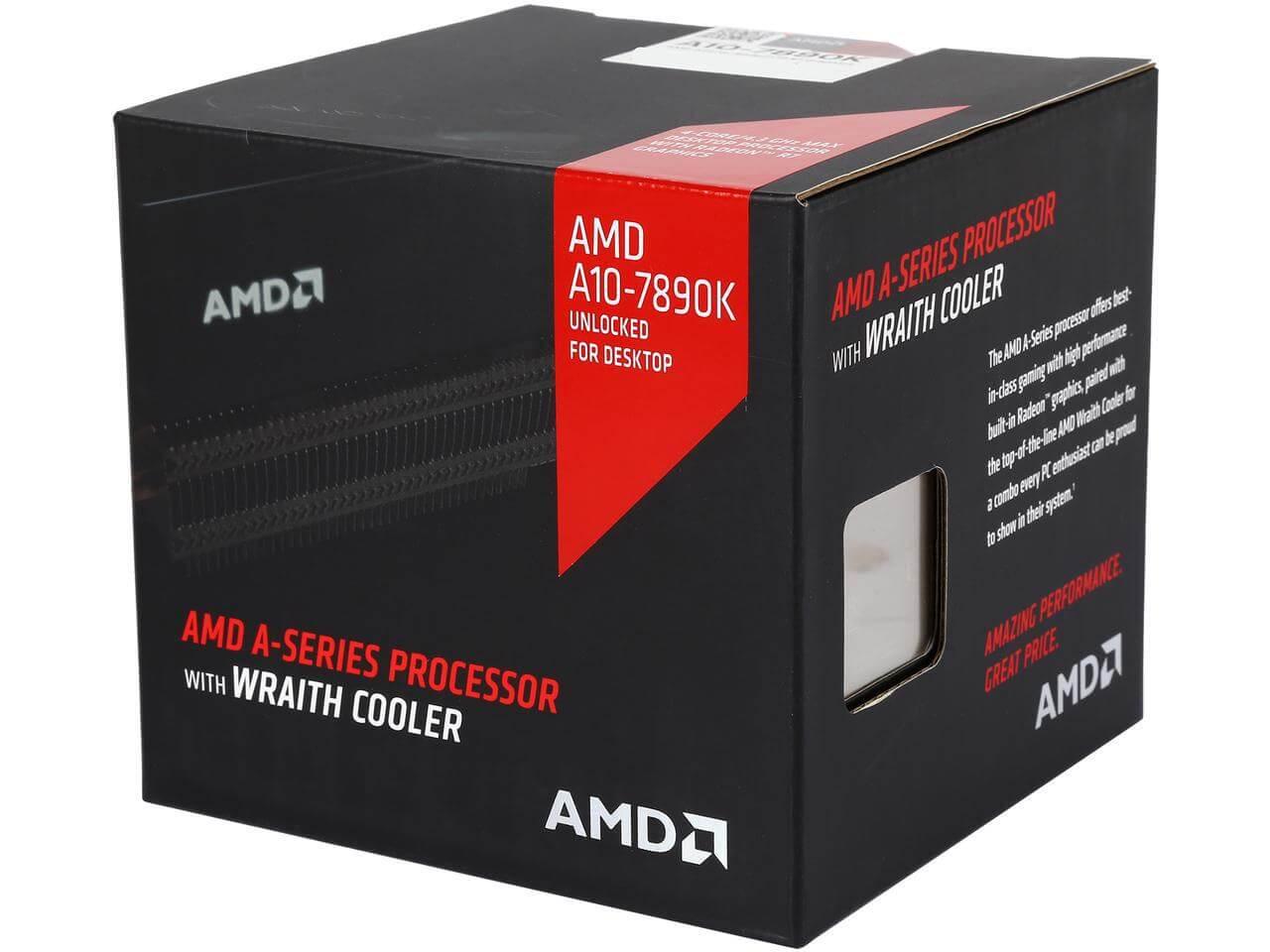 Картинка AMD A10-7890K Godavari 4100MHz TDP-95W от магазина NBS Parts
