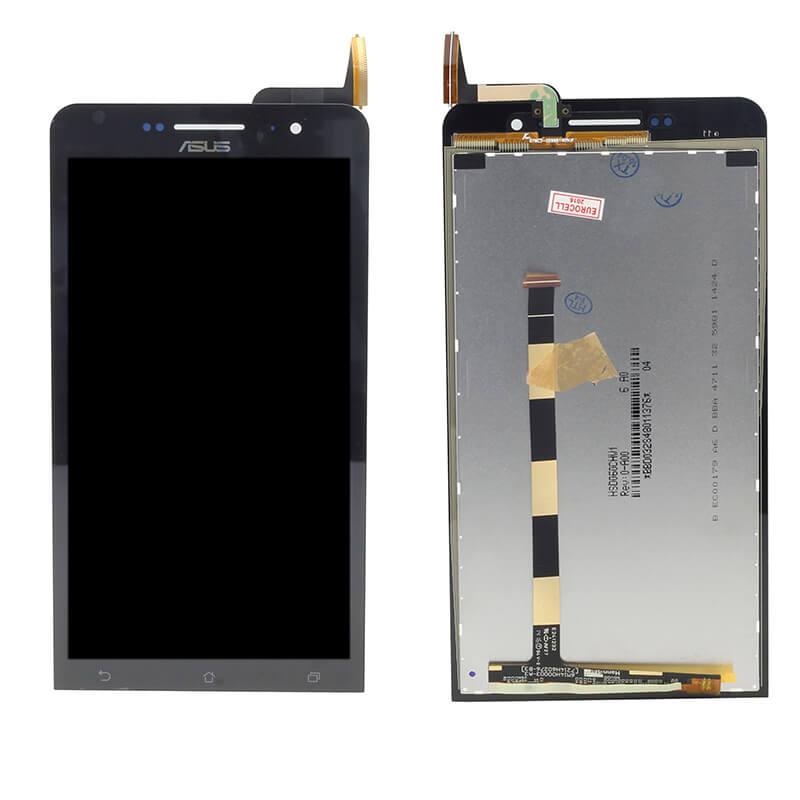 Картинка Дисплей Asus ZenFone 6 (A600CG) в сборе с тачскрином Черный от магазина NBS Parts