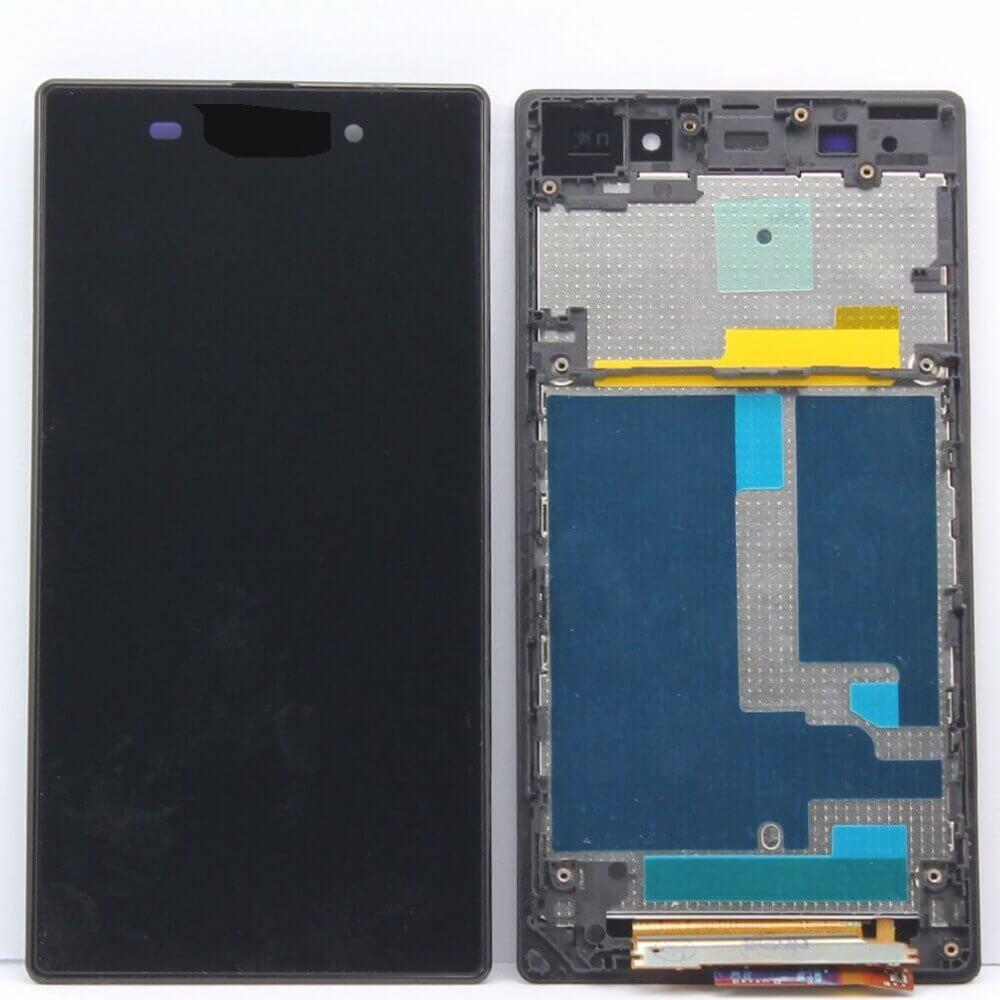 Картинка Дисплей Sony C6903 (Xperia Z1) в сборе с тачскрином Черный от магазина NBS Parts