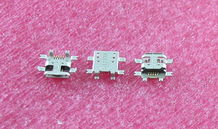 Картинка Разъем USB-micro Huawei Ascend G7 от магазина NBS Parts