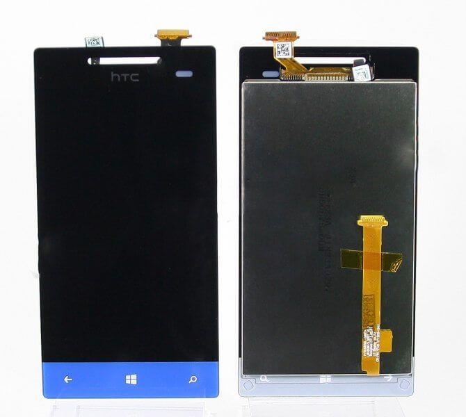 Картинка Дисплей HTC 8S в сборе с тачскрином Синий от магазина NBS Parts