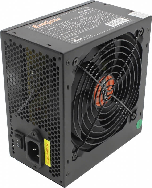 Картинка Блок питания 400W ATX Exegate ATX-XP400 от магазина NBS Parts