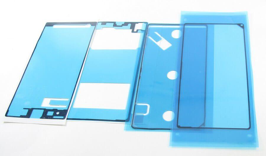 Картинка Скотч для сборки Sony C6903 (Z1) из 4-х частей, водонепроницаемый от магазина NBS Parts