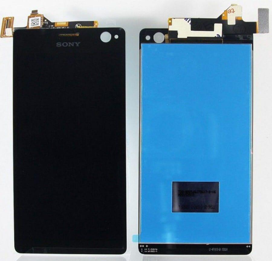 Картинка Дисплей Sony E5303 в сборе с тачскрином черный от магазина NBS Parts