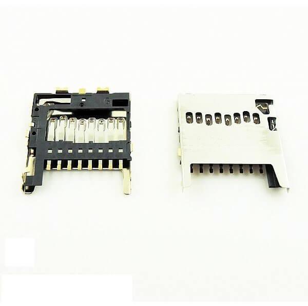 Картинка Коннектор SIM HTC One Dual/M8 от магазина NBS Parts