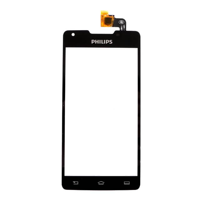 Картинка Сенсор Philips Xenium W6610/W6618 черный от магазина NBS Parts