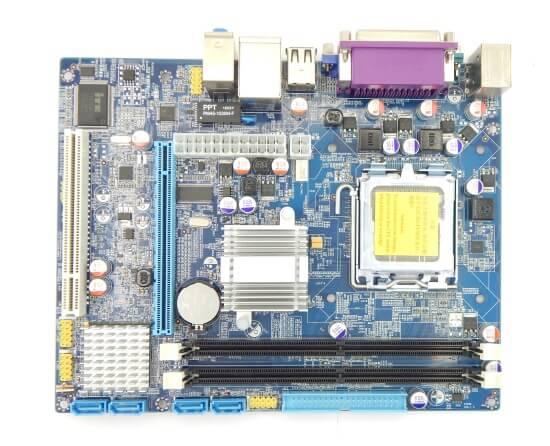 Картинка Материнская плата Foxconn, Socket775, G31, 2DDR2-800mHz, PCI-Ex16, SATA, 5.1-ch, VGA, mATX от магазина NBS Parts