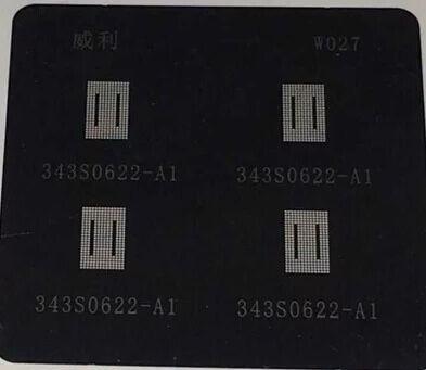 Картинка Трафарет для 343S0622-A1 iPad 4 A105 PM8038 (Я099) от магазина NBS Parts