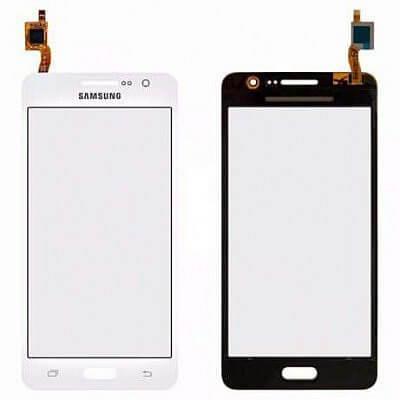 Картинка Сенсор Samsung G361H (белый) от магазина NBS Parts