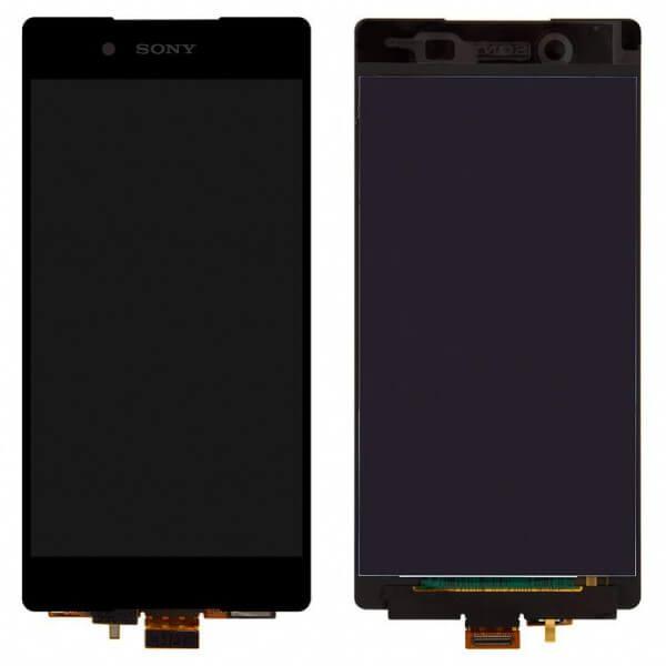 Картинка Дисплей Sony E6553 в сборе с тачскрином Черный от магазина NBS Parts